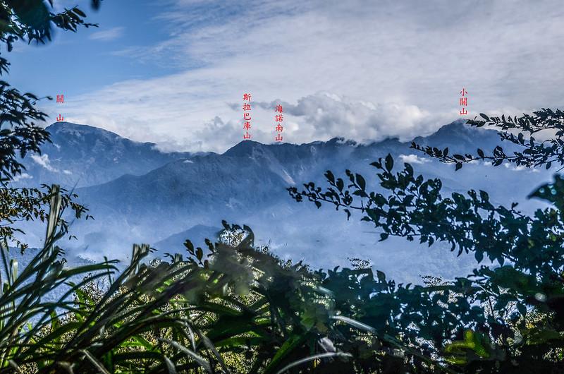 1598 峰東望大、小關山稜線 (3)