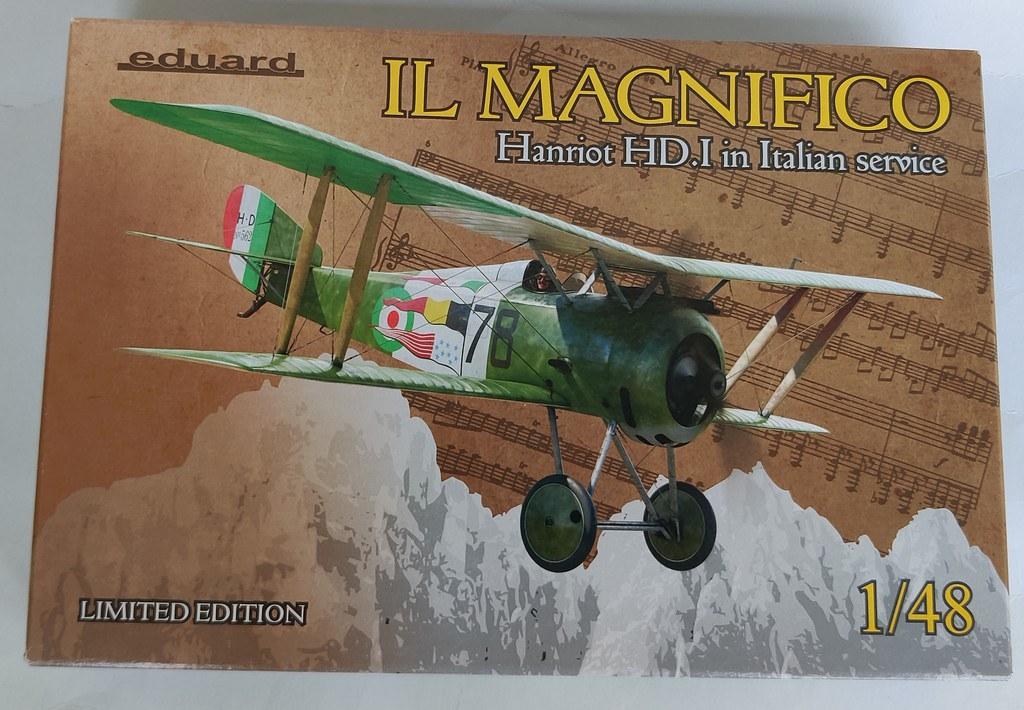 I magnifici (Due Hanriot HD1 italiani, scala 1:48, Eduard) 50708794983_2264dd792a_b