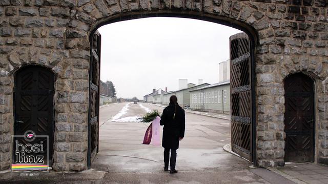 12.12.2020: Gedenken im ehemal. KZ Mauthausen