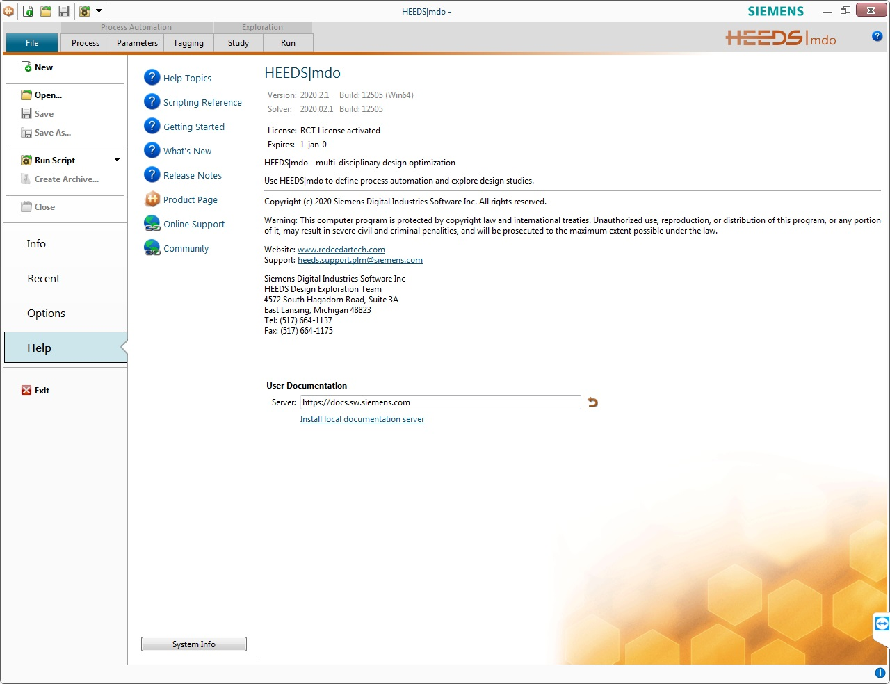 Working with Siemens HEEDS MDO 2020.2.1 full license