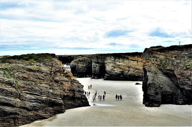 Galicia - Ribadeo - Playa de las Catedrales