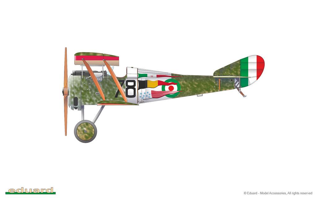 I magnifici (Due Hanriot HD1 italiani, scala 1:48, Eduard) 50709565881_fe9d3e2b63_b