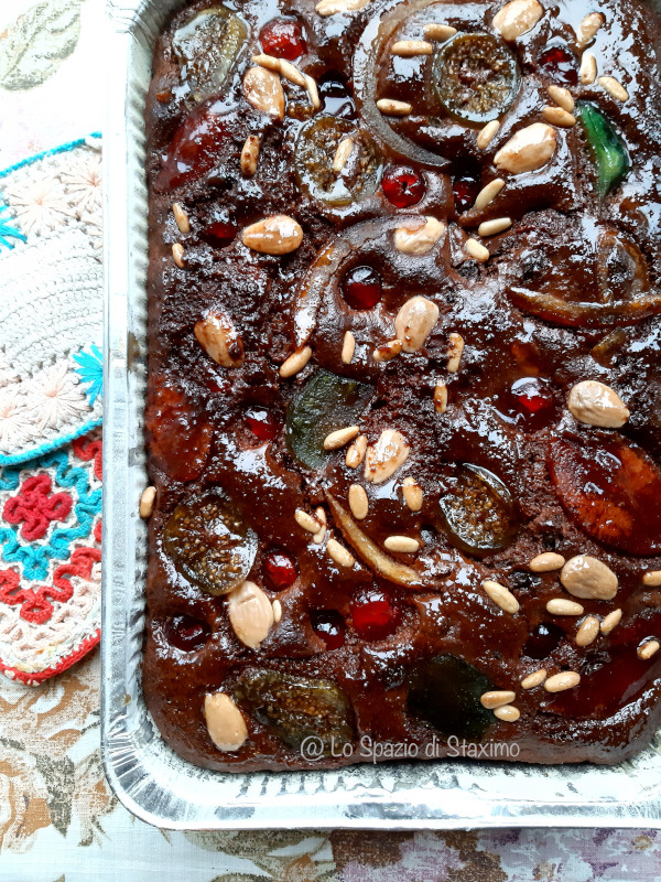 Il dolce di Natale il Panone Bolognese