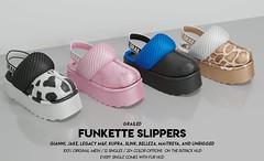 Unisex Funkette Slippers