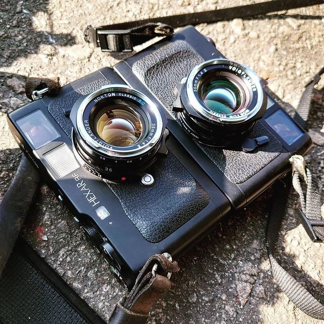 Voigtlander 35mm f1.4 二代 SC vs MC