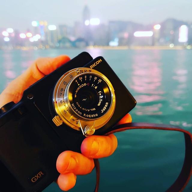 Nikon Topogon 2.5cm f4 Ricoh GXR 街掃