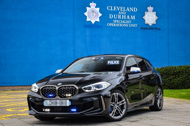 Unmarked BMW M135i xDrive