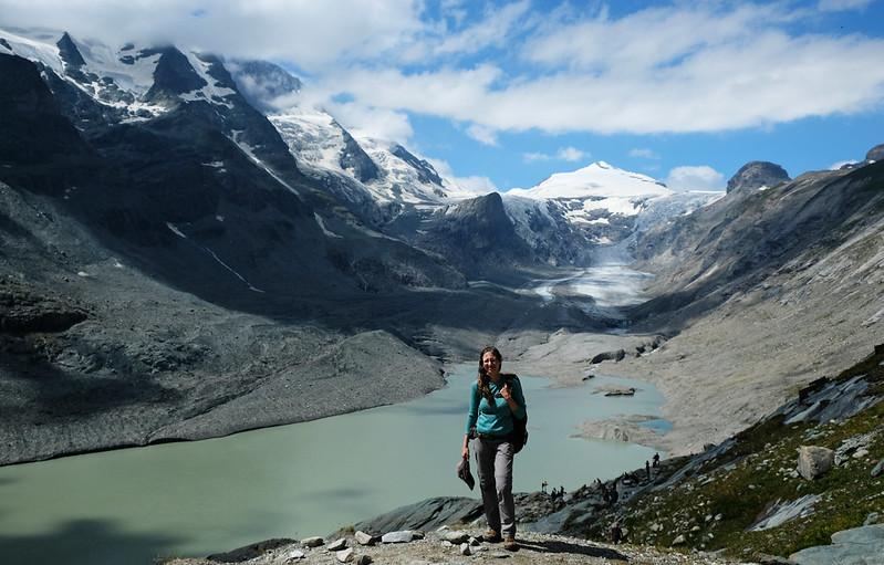 Pasterze Glacier, Grossglockner High Alpine Road, Austira