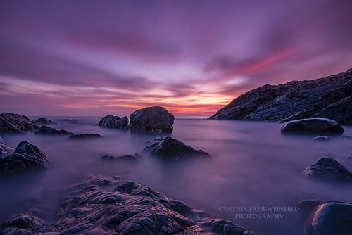 mist misty water coast coastal ogunquit maine sky clouds cloudporn sunrise twilight morning dawn waves rocks