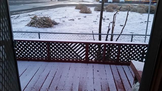 Brief Snow