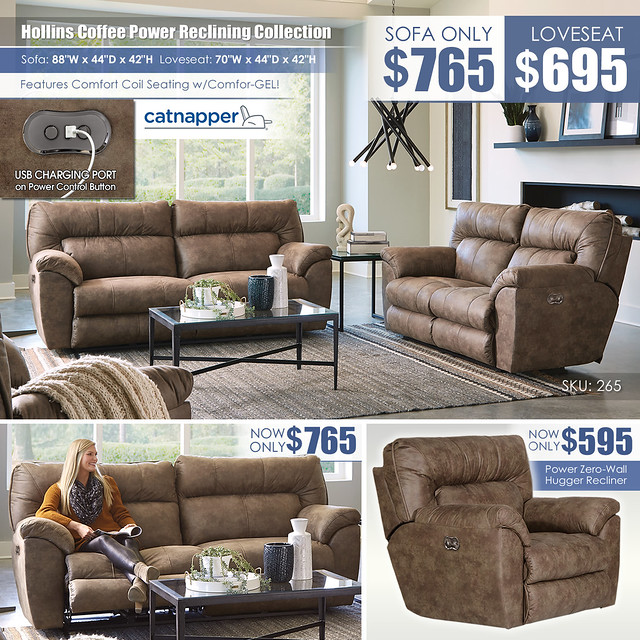 Hollins Coffee Power Reclining Sofa OR Loveseat_265_Layout
