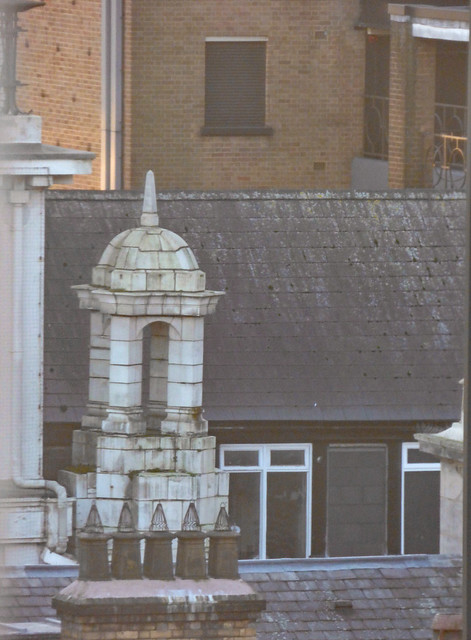 One of the Wren-style Turrets on top of the Piccadilly Arcade