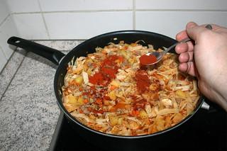 30 - Add paprika / Paprika hinzufügen