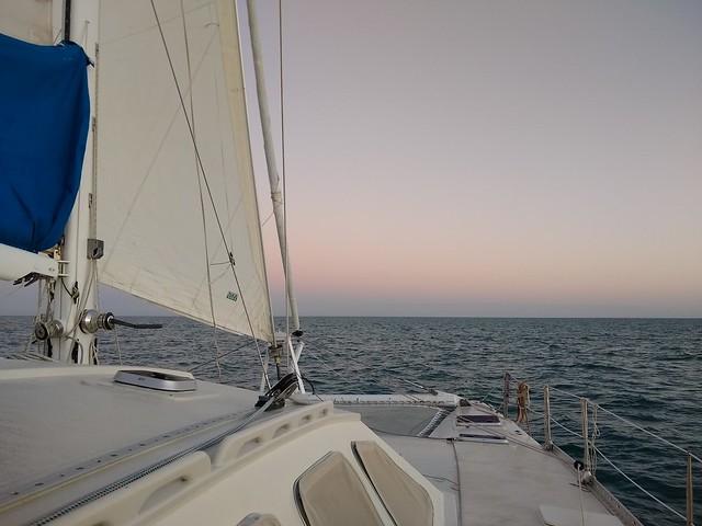 Sunrise at Sea, Gulf of Mexico, November 2020