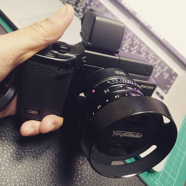 Voigtlander 35mm f1.4 II MC Ricoh GXR 福八枚玉感覺