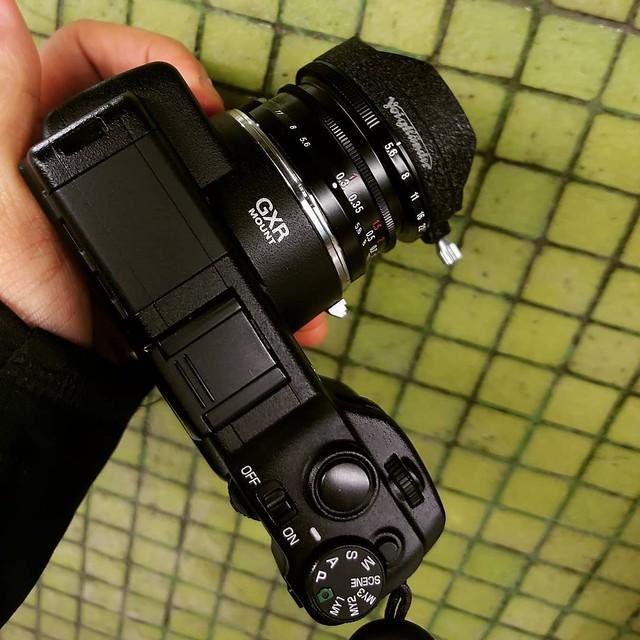 voigtlander 12mm f5.6 一代 半片幅試玩