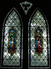 Saints (from West Tofts? by Pugin?)