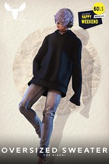 -MUSU- Oversized Sweater Retirement weekend!