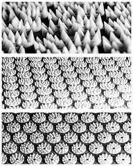 Acupressure mat variations