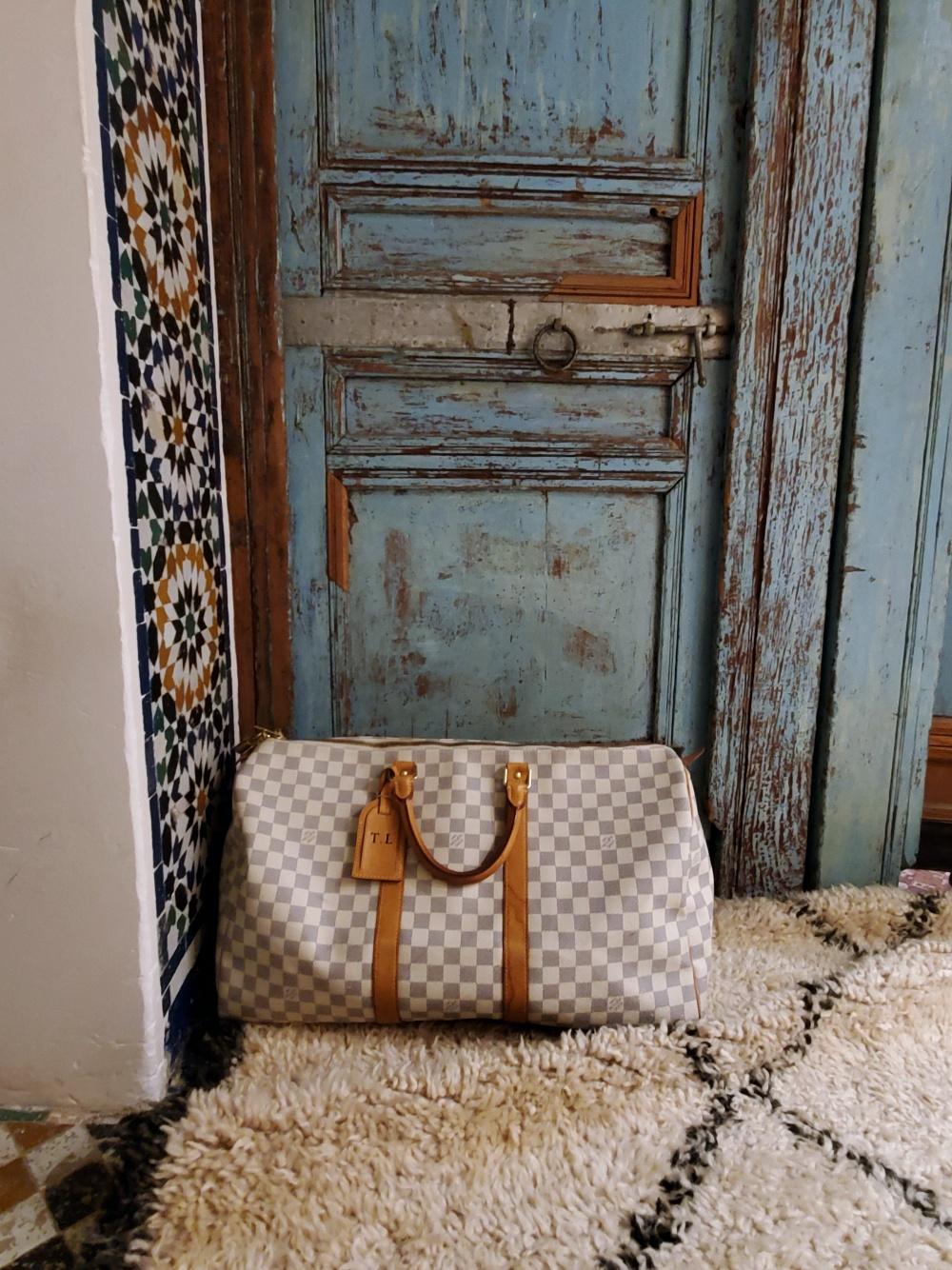 Louis Vuitton Keepall Azur
