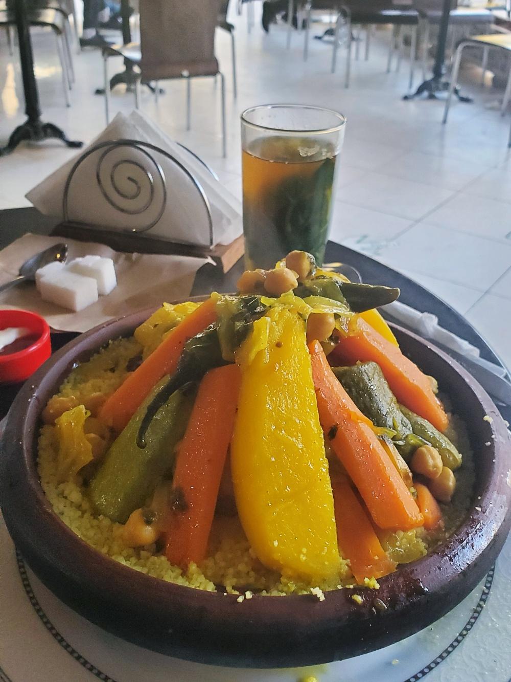 Couscous tagine