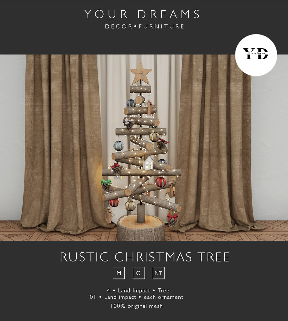 {YD} Rustic christmas tree