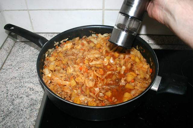 36 - Taste with seasonings / Mit Gewürzen abschmecken