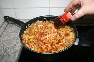 32 - Taste with chili flakes / Mit Chiliflocken abschmecken
