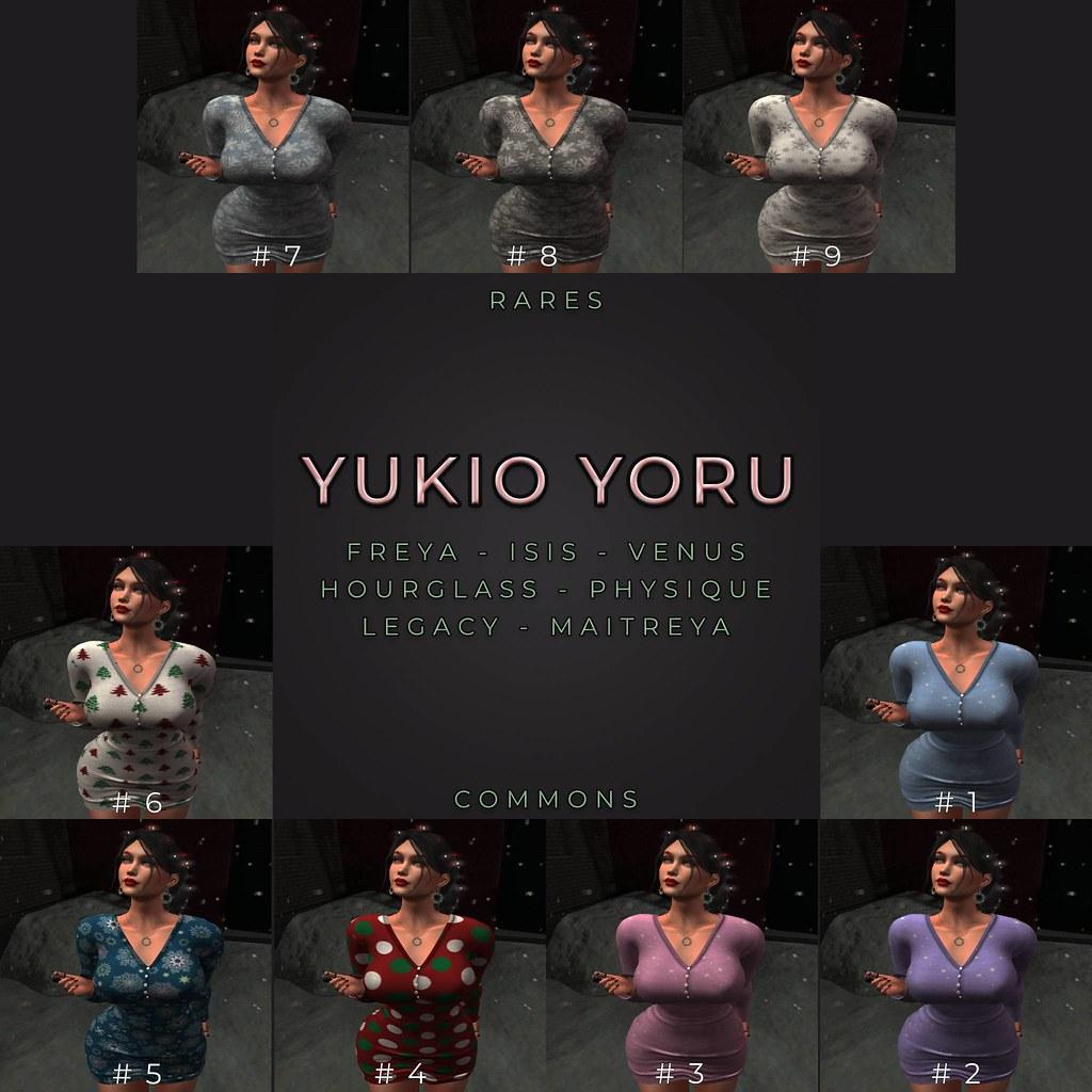 ZFG YUKIO YORU GACHA KEY