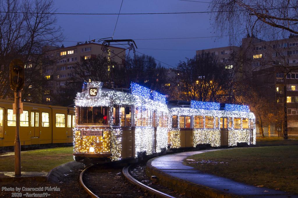 Новогодний транспорт трамвай,общественный транспорт,НГ