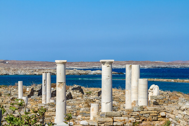 Armchair Traveling - The Island of Delos