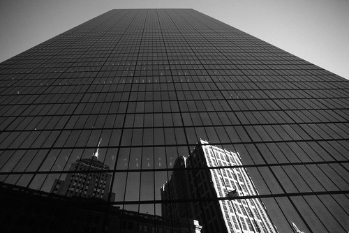 John Hancock Tower Reflecting