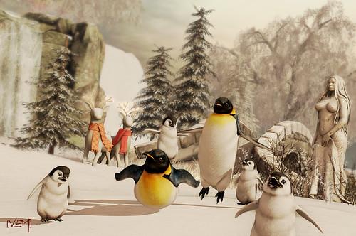 Pingüino mas cool