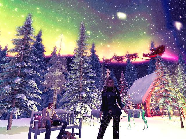 Peaceful Winter Dreams - Here Comes Santa Claus