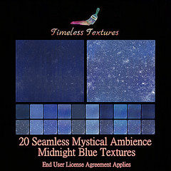 2020 Advent Gift Dec 12th - 20 Seamless Mystical Ambience Midnight Blue Timeless Textures