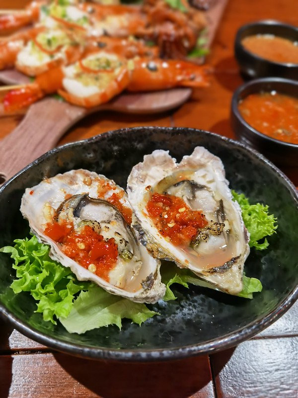 hutong oyster scallops