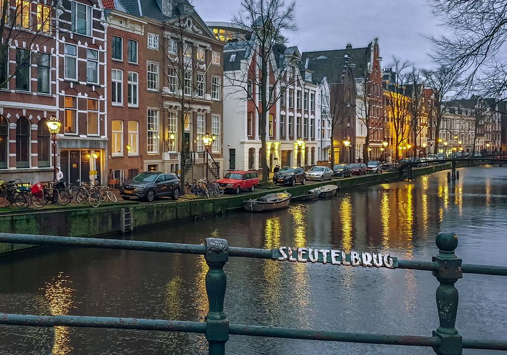 Amsterdam - sleutelbrug