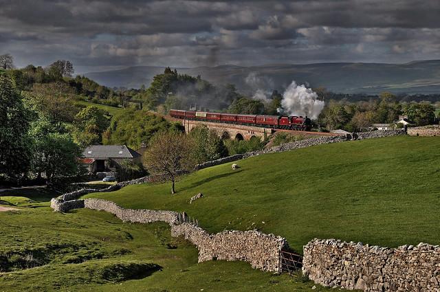 Steam in Cumbria