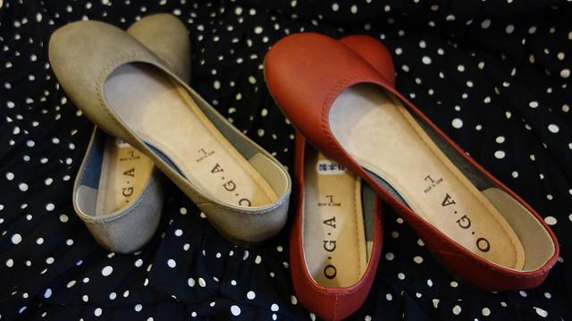 OGA平底鞋