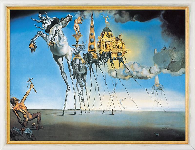 Salvador Dali, Die Versuchung des hl. Antonius - The temptation of St. Anthony