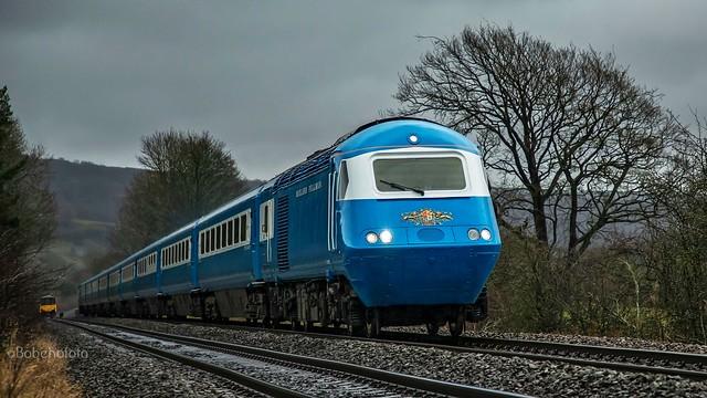 HST units 43055/43046 1Z43 St Pancras-Crewe