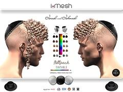 ISRAEL & ISHMAEL hair