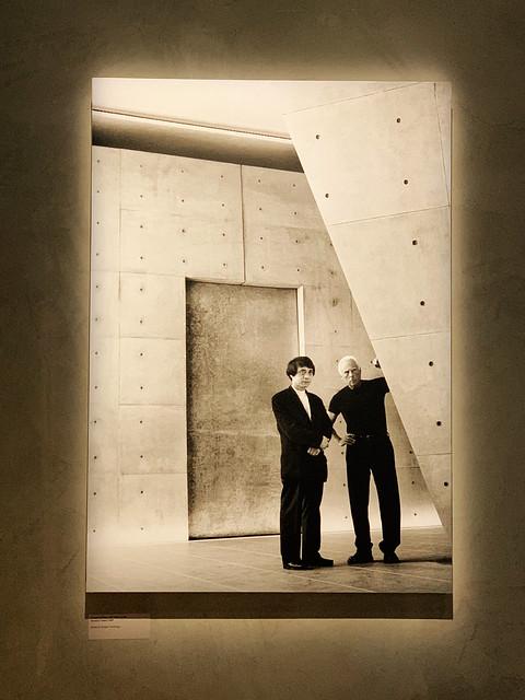 Tadao Ando & Giorgio Armani.
