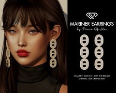 Mariner Link Earrings @ Mainstore & Marketplace