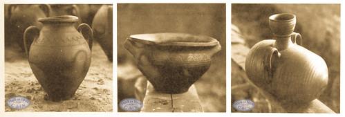 1968 - Piezas cerámica negra