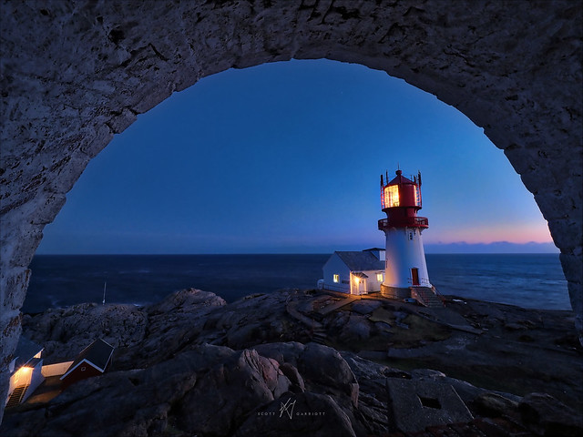 EXPLORED: Lindesnes Blue Hour Arch