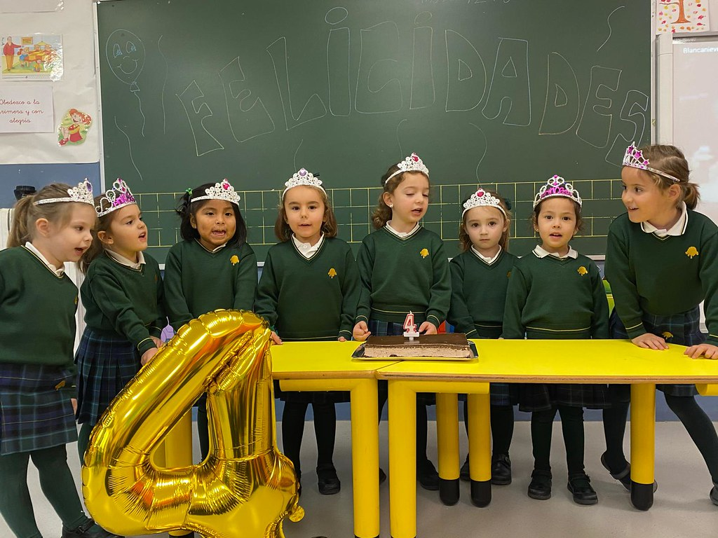 Cumpleaños en Infantil