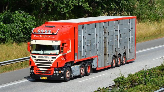 DK - Scania R V8 Topline - Hans Skov Christensen