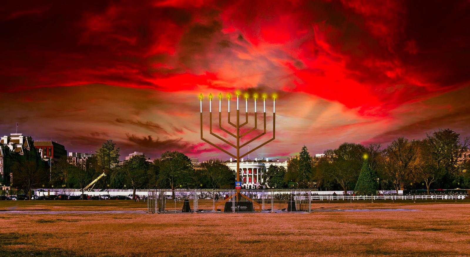 Photo Friday: Happy Hanukkah, Washington, DC USA