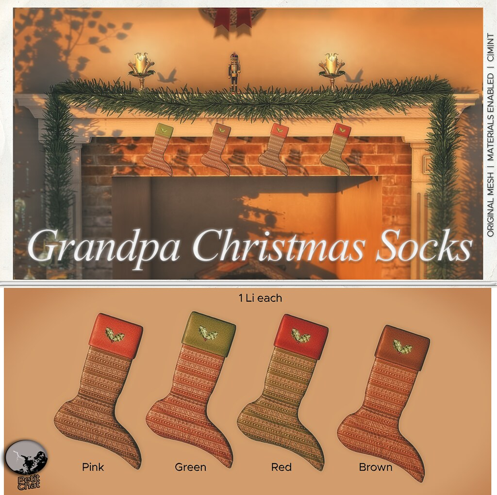 Exclusive Christmas Groupgift @ Petit Chat